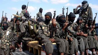 armed fighters from Somalia's al-Shabab jihadist movement . Photo/Farah Abdi