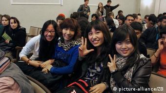 Ausländische Studenten Foto:Jan-Peter Kasper/FSU