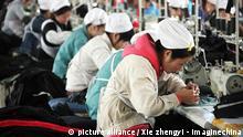 China Textilindustrie Näherinnen neu