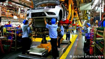 Ford factory in Chonqing, China