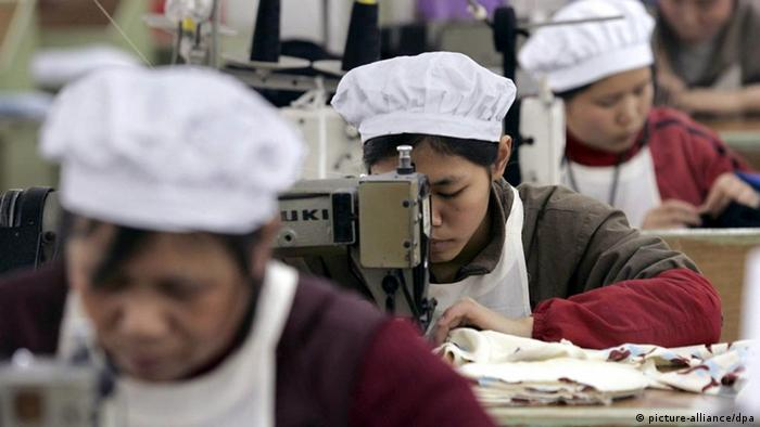 Textilproduktion in China