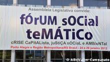 Weltsozialforum 2012 in Porto Alegre, Brasilien Copyright: Valter Campanato / ABr Porto Alegre, 2012