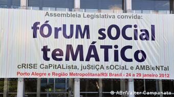 Weltsozialforum 2012 in Porto Alegre, Brasilien (Foto: Valter Campanato, Porto Alegre 2012)