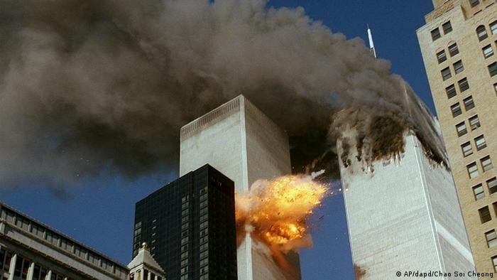 Brennendes World Trade Center (Foto: AP/dapd)