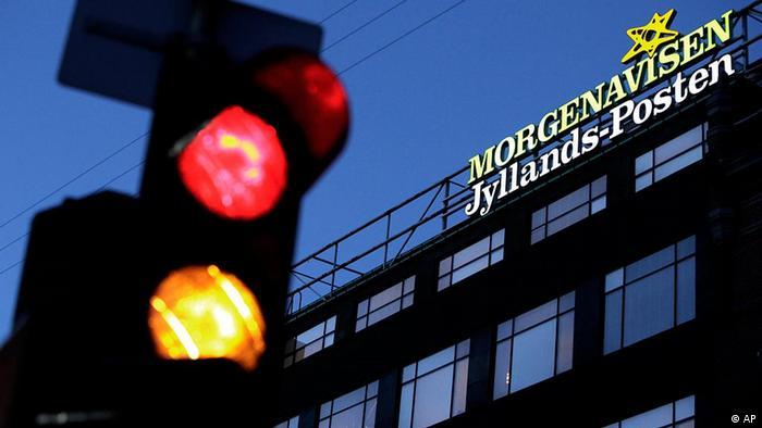 Dänemark Anschlag Versuch auf Jyllands Posten in Kopenhagen (AP)