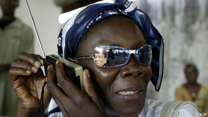 Ouvinte na Libéria