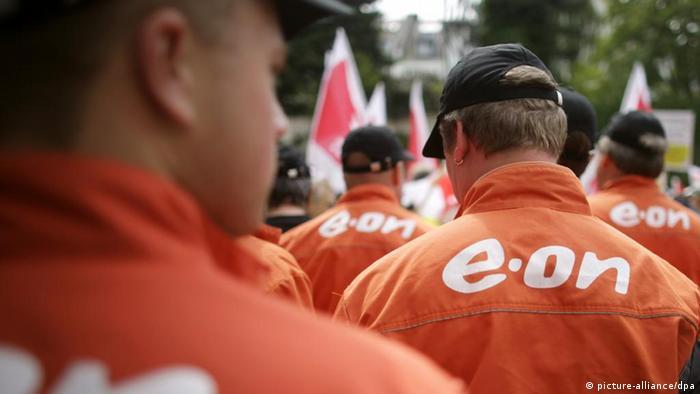 Работники концерна E.on