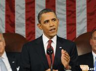 سخنرانی اوباما در جمع نمایندگان پارلمان و مجلس سنا