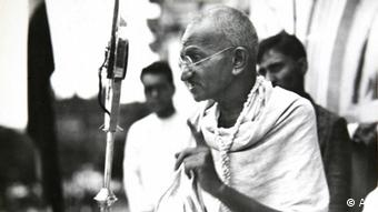 Mahatma Gandhi, ca. 1931. (AP Photo/James A. Mills)