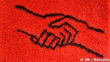 Stasimuseum Berlin - Gedenkstätte Normannenstraße. Geschenke, Teppich, Handschlag. Deutschland entdecken, Relaunch. Copyright: DW / Maksim Nelioubin. DEMASTERNEU097