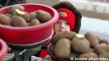 Weißrussland Einzelhandel Kartoffeln Armut