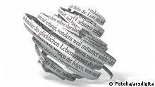 Autor arsdigital Portfolio ansehen Bildnummer 21010850 Land Deutschland Repräsentative Kategorie Abstrakt Zeichen / Symbol Konzeptionelle Kategorie Freizeit Kunst Literatur Keywords abhandlung band buch buchstaben deutsch druck druckerei druckerzeugnis durcheinander endlos foliant gedrucktes geschrieben leben lektüre lesestoff literatur lust manuskript papier papierband presse pressewesen publikation rezension satz schatten schreiben schrift schriftbild schwarz sprache studie symbol text textband veröffentlichung weiß werk winden wort wortlaut zeichen zeitschrift zeitung