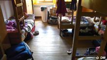 Einblick in Gruppenzimmer der DJH Sudelfeld, Oberbayern, aufgenommen am 19.05.2011 von Karin Jäger/ DW