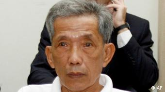 Former Tuol Sleng prison chief Kaing Guek Eav, also known as Duch