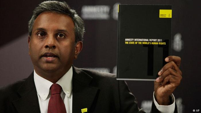 Salil Shetty Amnesty International (AP)