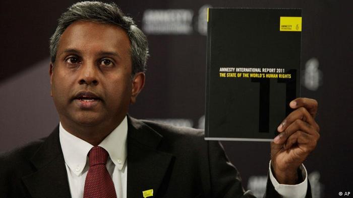Salil Shetty Amnesty International