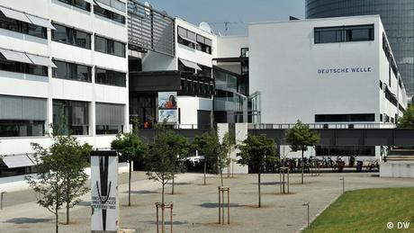 O Schürmann-Bau, a sede da Deutsche Welle em Bona, Alemanha