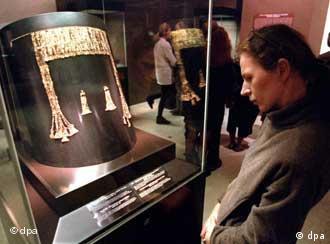Among the exhibits is Heinrich Schliemann's famous