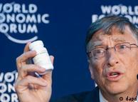 El empresario Bill Gates también acudió como invitado a Davos.