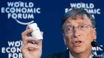 Schweiz Weltwirtschaftsforum in Davos Bill Gates