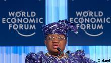 Schweiz Weltwirtschaftsforum in Davos Ngozi Okonjo-Iweala aus Nigeria