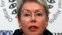 Schweiz Wahlbeobachtungsmission Wahl Russland Heidi Tagliavini