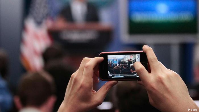 Mobile Reporting with a smartphone