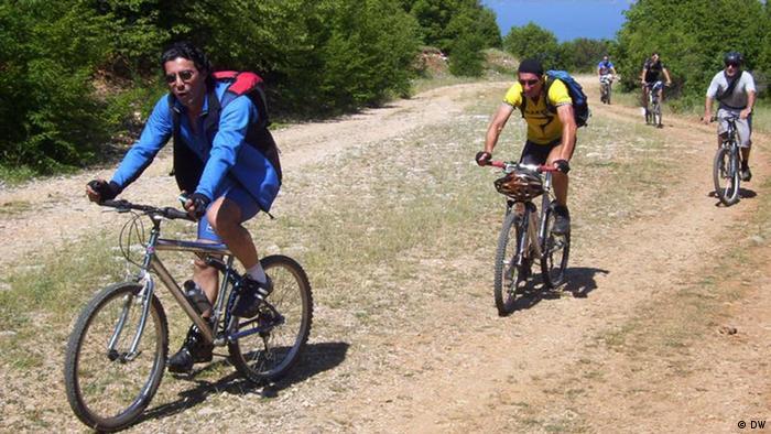 Radtour in Galicica Natiolapark - Mazedonien
