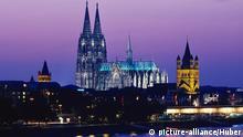 Deutschland UNESCO Welterbe Dom in Köln