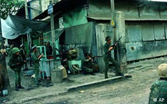 Vojnici severnog Vijetnama tokom rata - fotografija snimljena februara 1968. godine