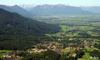 Alpenpanorama Südbayern