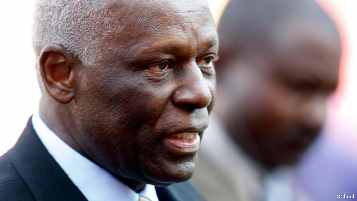 Angola Präsident Jose Eduardo dos Santos
