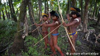 Boa parte das reservas minerais está sob áreas de preservação ou terras indígenas