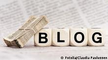 Symbolbild Blog Blogging Internet