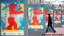 Deutschland Filmfestival Plakat der Berlinale 2012