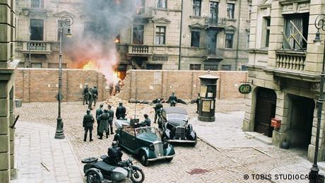 El rodaje de El pianista se llevó a cabo en los estudios de cine Babelsberg, en Berlín.
