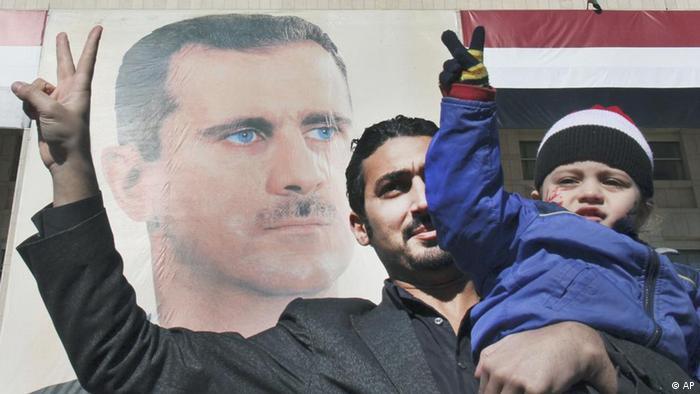 بشار اسد با وجود ناآرامیهای خونین ماههای گذشته همچنان موافقانی در میان گروههای مختلف مردم سوریه دارد