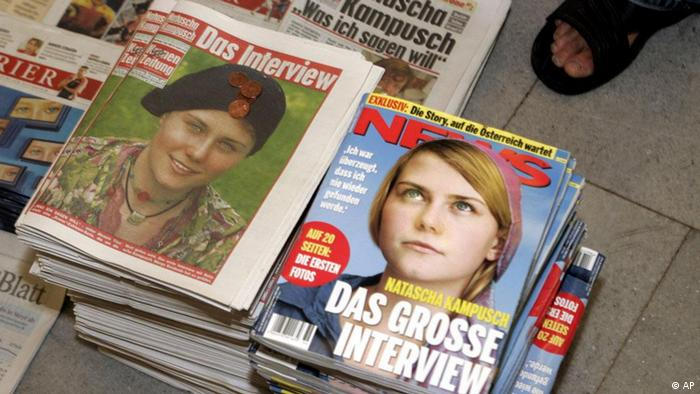 Austrian kidnapping case revisited | News | DW | 13 07 2012