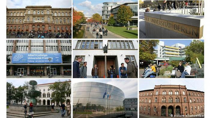 Elite-Universitäten in Deutschland (picture-alliance/dpa/DW)