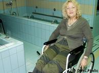 Jadranka Stojaković u kolicima