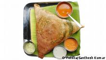 Masala dosa, chutney and sambar Copyright: Fotolia/Santhosh Kumar