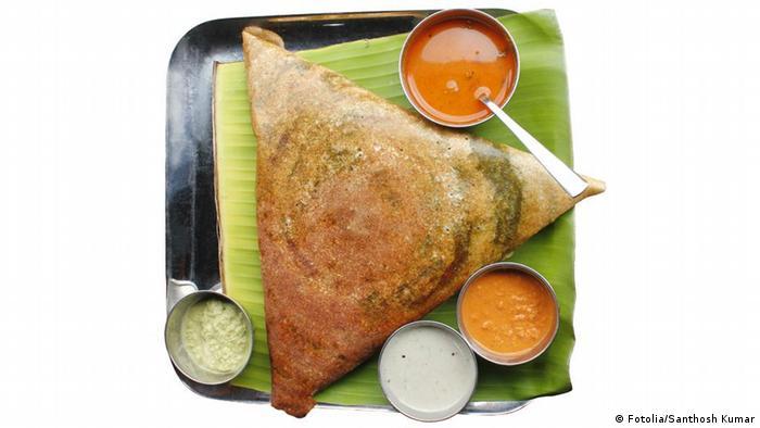 Masala dosa, chutney and sambar (Fotolia/Santhosh Kumar)