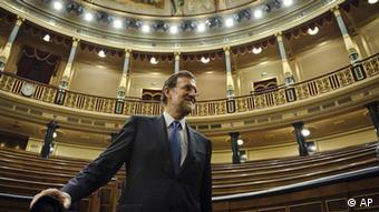 Spanien Mariano Rajoy Premierminister Parlament Wahl