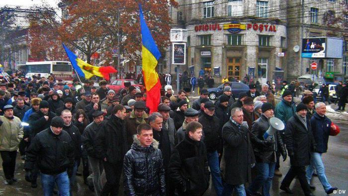 Молдавская молодежь хочет смены политического класса