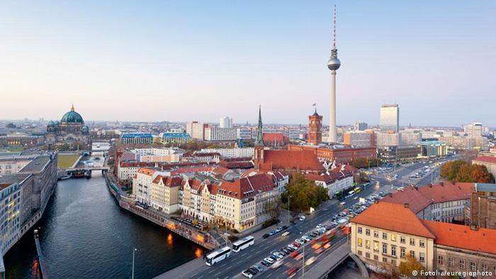 Панорама центра Берлина