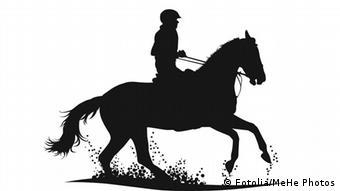 pferd gedrehte zunge