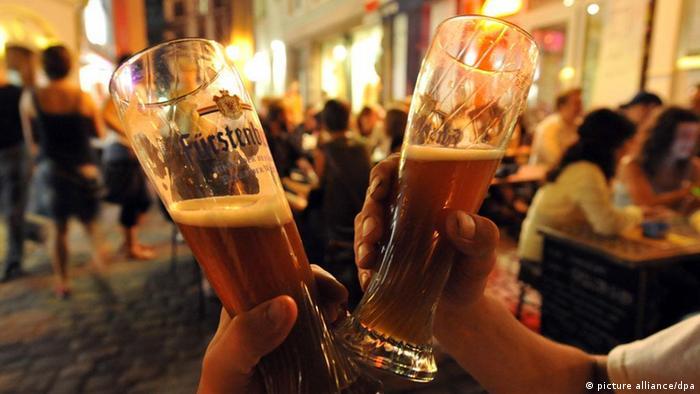 Zakaz alkoholu w miejscach publicznych w RFN (picture alliance/dpa)