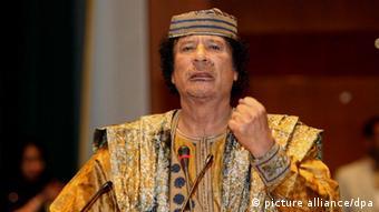 Der frühere libysche Diktator Muammar al-Gaddafi (Foto: EPA)