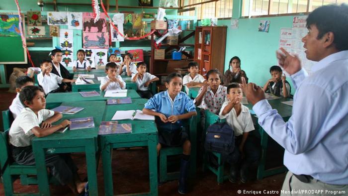 Peru Klassenzimmer
