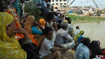 Textilfabrik in Bangladesch nach einem Unfall
